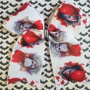 Pennywise horror hair bow